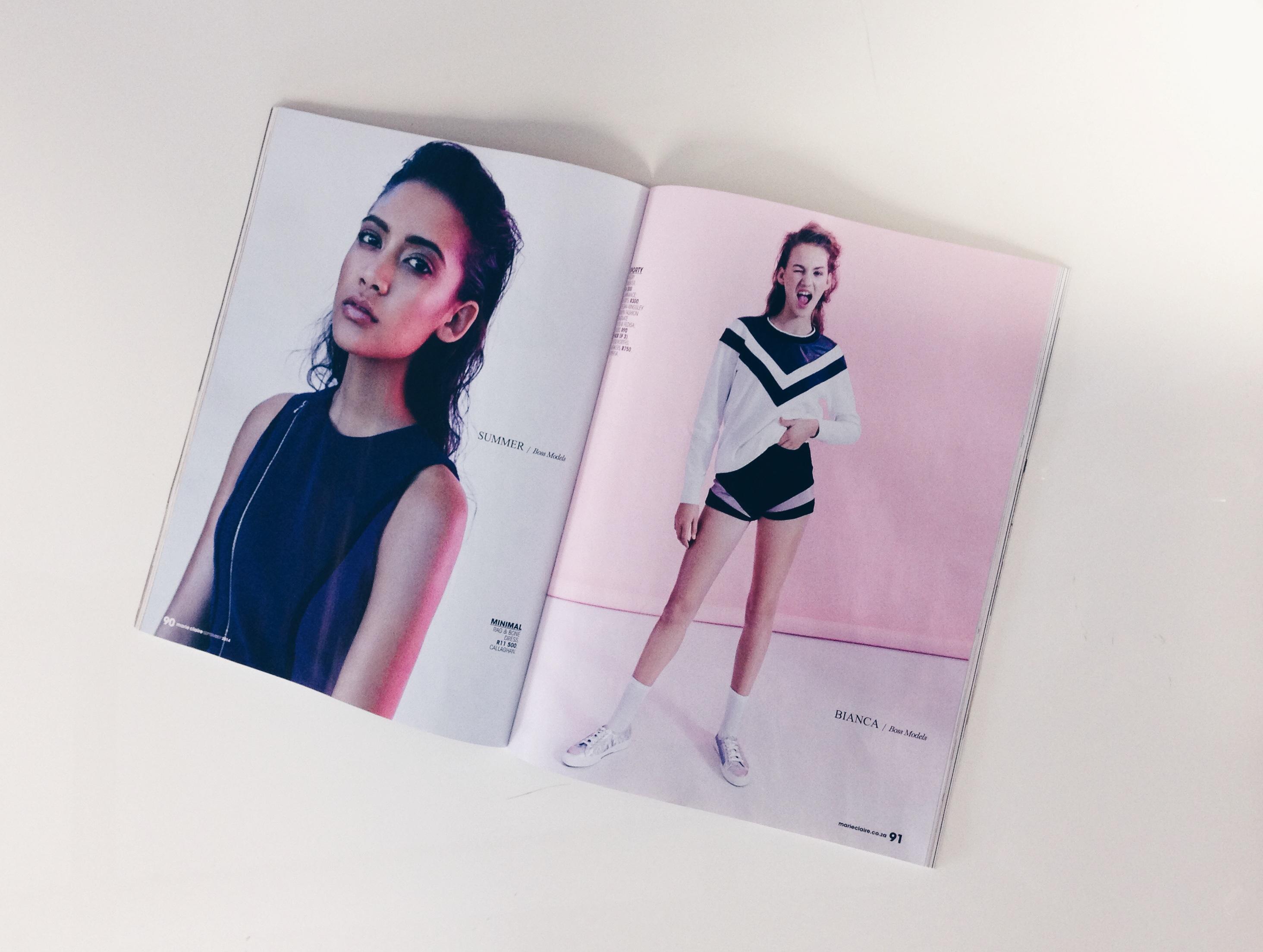 Keagan Kingsley Designs: Marie Claire 1